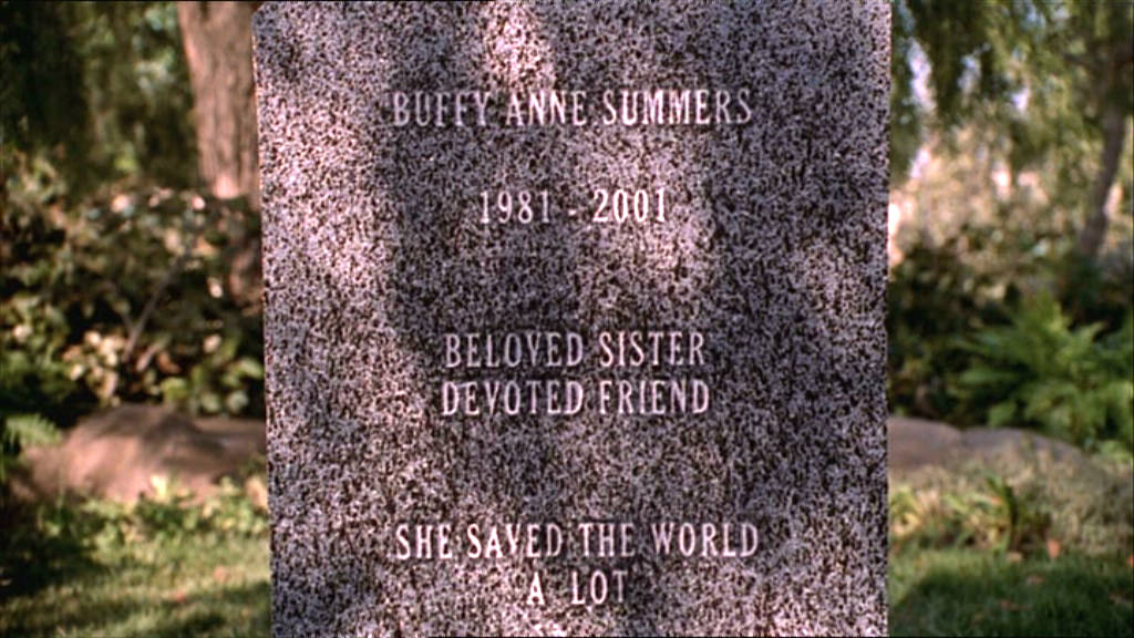 Buffy's Grave
