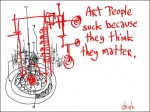 Art People Suck